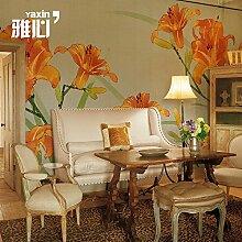 HANHUAN Art Deco Fresko Tapete Hintergrundbild