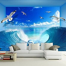 HANHUAN Personalisierte Sea Wave Dolphin Natur