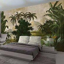 HANHUAN Retro Stil Tropischen Regenwald Pflanze