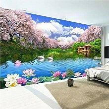 HANHUAN Tapete 3D Wandbilder Schöne Hd