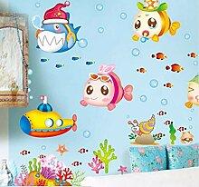 Hanjiming Bubble Fish Unterwasserwelt Kinderzimmer
