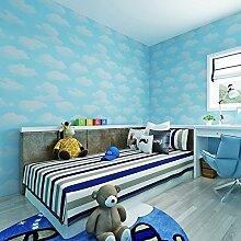 hanmero Tapete Modern Design von Himmel Blau und
