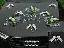 HANNAH Auto Schmuck Braut Paar Rose Deko