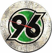 Hannover 96 Wanduhren Wall Clock 20cm
