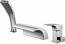 Hanpure Badewannenarmatur, Wasserfall-Armatur mit