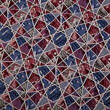 Hans-Textil-Shop Stoff Meterware Mosaik,