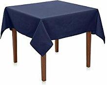 Hans-Textil-Shop Tischdecke 130x170 cm Marine Blau
