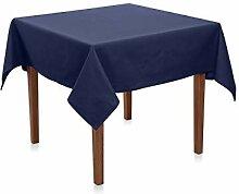 Hans-Textil-Shop Tischdecke 130x190 cm Marine Blau