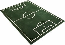 Hanse Home 100827 Fußballteppich, 120 x 170 cm,grün