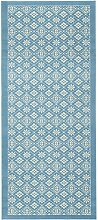 HANSE Home Design Velours Teppich Kurzflor Tile,