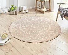 Hanse Home Designer Velours Teppich Valencia Rosa