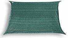 hanSe® Marken Sonnensegel Sonnenschutz Segel Rechteck 3x4 m Grün