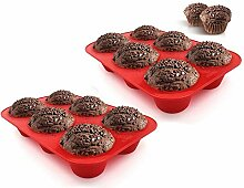 Hanseatic Consumables GROßE 6er Muffin | Brownie