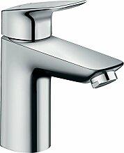 Hansgrohe–71011000–Waschtisch-Armatur Badezimmer-mycube L chrom