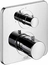 Hansgrohe 34705000 Fertigmontagest Axor Citterio M Unterputz Thermostat Armatur mit Absperrventil, chrom