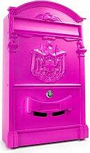 Hansmeier Briefkasten Pink - Moderner Retro-Style