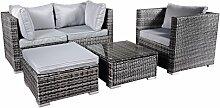 Hansson Polyrattan Gartenmöbel Lounge Set