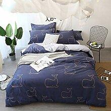Hanxin Vierteilige Baumwolle Bettbezug,