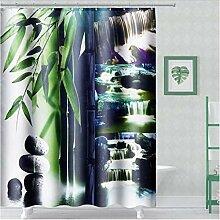 HANYULIAN Duschvorhang Duschvorhang aus Bambus im