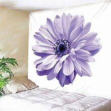 Hao Sai's shop Tapisserie Blühende Blumen