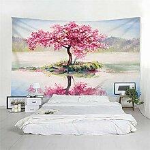 Hao Sai's shop Tapisserie Ölgemälde Baum