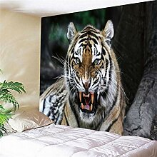 Hao Sai's shop Tapisserie Wilder Tiger Mandala