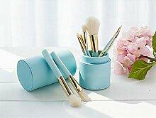 Haodasi Makeup Brush 8Pcs Make-up Pinsel Anzug Schönheit Werkzeuge Eimer Pinsel Multi-Color optional Kosmetik-Tool (grün)