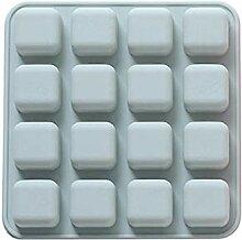 Haodou 16 Gitter Eisform silikon Kuchenform Platz