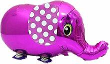 Haodou Ballons Elefant Aluminiumfolie