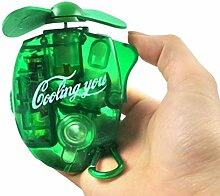 Haodou Mini-Ventilator mit Sprühflasche Handventilator Wassersprüher für Büro Ferien im Freien