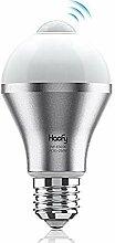 Haofy Bewegungsmelder Glühbirne LED lampe E27