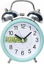 haohao 3 Zoll Metall Glocke Wecker Mit Nachtlicht