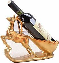 HAOJINFENG Weinregal kreative Weinflasche Inhaber