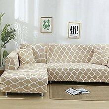 Haokaic Sofabezug Elastic Stretch Sofa Hussen für