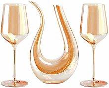 HAOKTSB Whisky Dekanter Wein-Dekanter 750ml und 2
