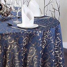 HAOLIA Hotel Runde Tischdecke Tee Tischdecke Tischdecken ( größe : 120*160cm )