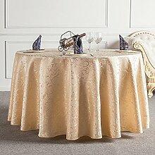 HAOLIA Hotel Runde Tischdecke Tee Tischdecke Tischdecken ( größe : 200cm )