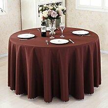 HAOLIA Thick einfarbig Hotel Tischdecke Restaurant Tischdecke Konferenz Picknick Hochzeit Bankett roten Rechteck Platz Tischdecken ( größe : 140*160cm )