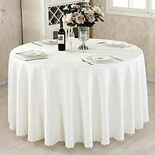 HAOLIA Thick einfarbig Hotel Tischdecke Restaurant Tischdecke Konferenz Picknick Hochzeit Bankett roten Rechteck Platz Tischdecken ( größe : 180cm )