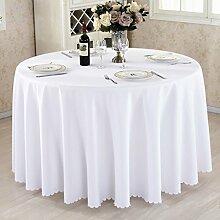 HAOLIA Verdickte Hotel Round Tisch Tischdecke Rechteck Square Round weiß Tischdecken ( größe : 200cm )