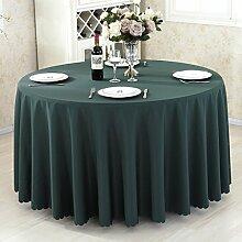 HAOLIA Verdickte Hotel rund Tisch Tischdecke Rechteck quadratischen Runde Tischdecken ( größe : 90*90cm )