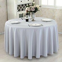 HAOLIA Verdickte Hotel rund Tisch Tischdecke Rechteck quadratischen Runde Tischdecken ( größe : 320cm )