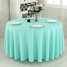 HAOLIA Verdickte Hotel rund Tisch Tischdecke Rechteck quadratischen Runde Tischdecken ( größe : 300cm )
