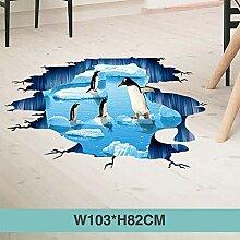 HAOLY 3D Stereo Wandaufkleber, Schlafzimmer Decke