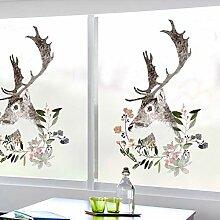 HAOLY Fenster Glas klar Film,Badezimmer Office