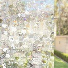 HAOLY Schattierung Sonnenschutz-Fenster-Folie,Kein
