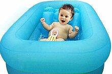 HAOSHUAI Aufblasbarer Pool Badewanne aufblasbare