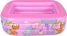 HAOX Kinderpool, Schwimmbad, aufblasbare Cartoon