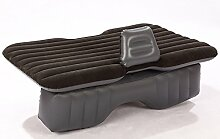 HAOXIAOZI Auto-aufblasbares Bett SUV Das Reise-Bett-Auto-Bett-Hintersitz Beflockt,Black