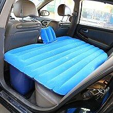 HAOXIAOZI Auto-Bett SUV Das Kinderschlafmatte-Reise-aufblasbares Bett Sich Schart,Blue